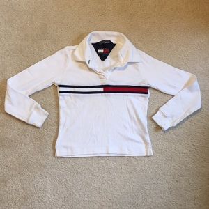 EUC Tommy Hilfiger collared long sleeve